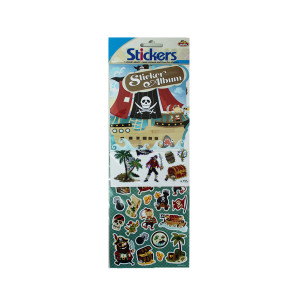 Pirate Sticker and Album Set
