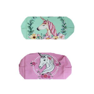 Floral Unicorn Pencil Case (each)