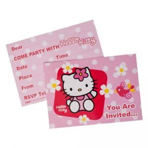 Hello Kitty Party Invitations (6)