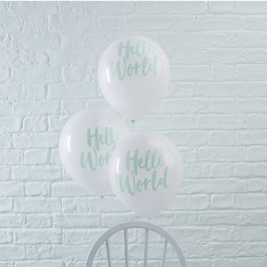 Hello World Balloons (10)