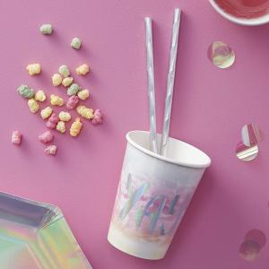 Iridescent Party Paper Cup (8)