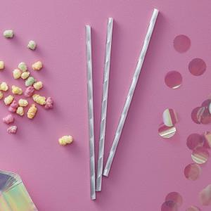 Iridescent Party Straws (10)