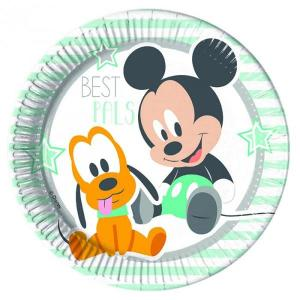 Disney Infant Mickey - Paper Plates (8)