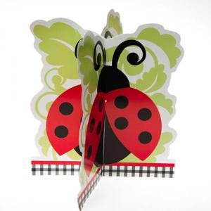 Lively Ladybug 3D Centerpiece