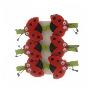 Ladybird Felt on peg (6)