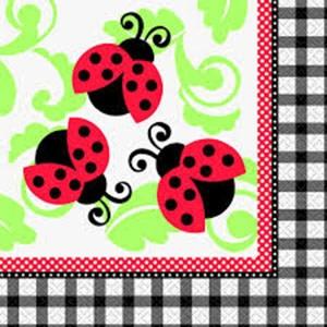Lively Ladybug Lunch Napkins (16)