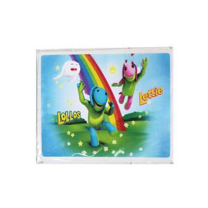 Lollos and Lettie Plastic Party Box/Bucket Sticker (10)
