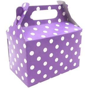 Lavender Dotted Party Box (10)