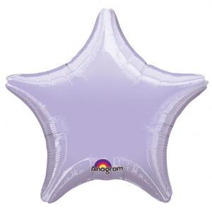 Lavender Star Foil Balloon