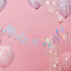 Make A Wish Bunting