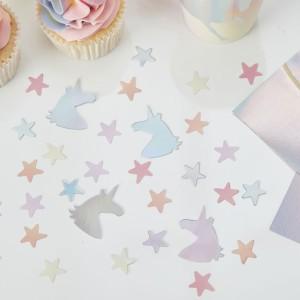 Make a Wish Confetti Stars & Unicorns