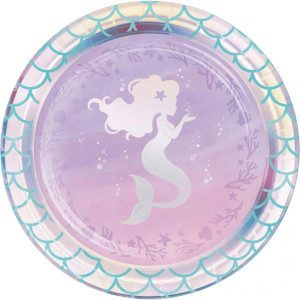 Mermaid Shine Dessert Plates (8)