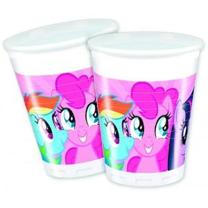 My Little Pony Plastic Cups (8)