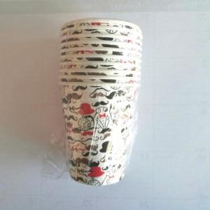 Dapper Man Moustache Paper Cups (10)