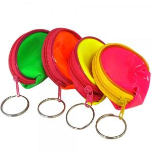 Neon Keyring Purse (6pc)