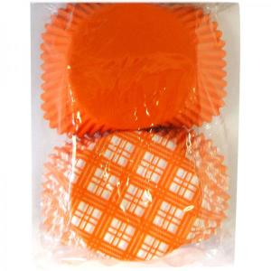 Orange Paper Baking-cup (50pc)