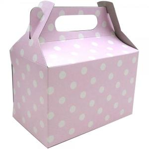 Light Pink Dotted Party Box (10)