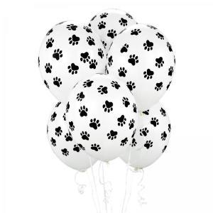 Paw Prints Latex Balloons (5)