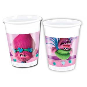 Trolls Plastic Cups (8)