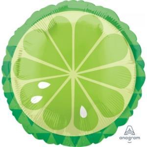 Tropical Lime Foil Balloon 18 inch