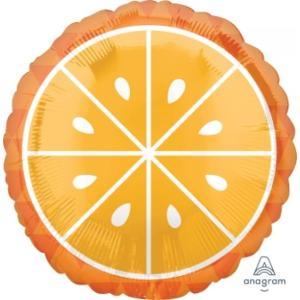 Tropical Orange Foil Balloon 18 inch