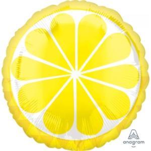 Tropical Lemon Foil Balloon 18 inch