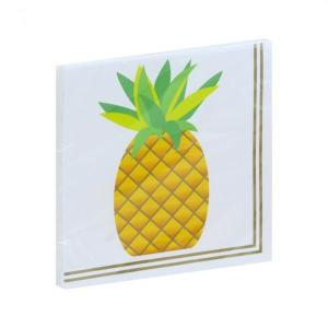 Pineapple Beverage Serviettes (24)