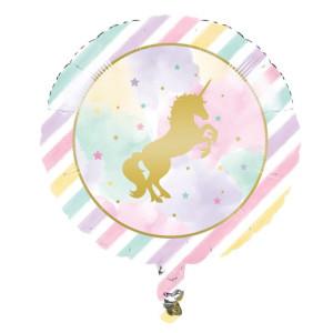 Sparkling Unicorn Foil Balloon 18inch