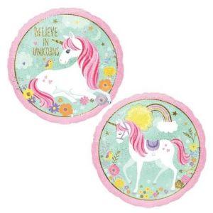 Believe In Unicorns Foil Balloon 18 inch