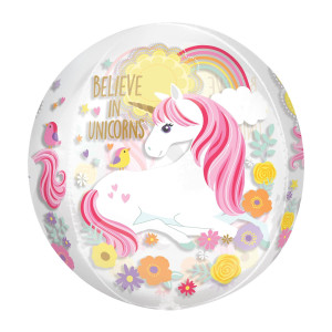 Unicorn Magical Clear Orb