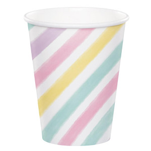 Sparkling Unicorn Paper Cups (8)