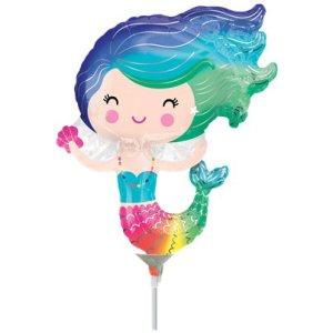 Mermaid Mini Shape Balloon