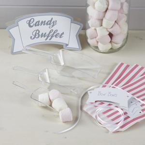 Vintage Lace Pastel Pink Candy Bar Kit