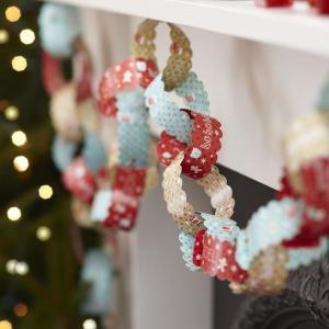 Vintage Noel - Paper Chains