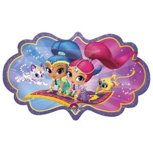 Shimmer and Shine Glitter Friends Super Shape Balloon