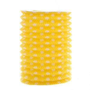 Yellow Dotted Lantern