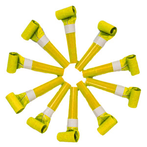 Yellow Paper Blow Outs (10)