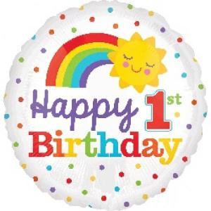 1st Happy Birthday Balloon