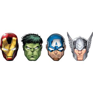 Mighty Avengers Paper Masks (6)