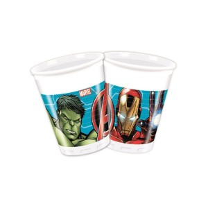 Mighty Avengers Plastic Cups (8)
