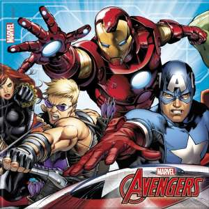 Mighty Avengers Napkins (20)