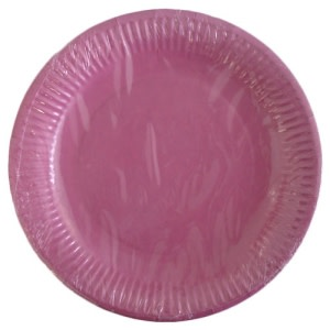 Pink Paper Plates (10)
