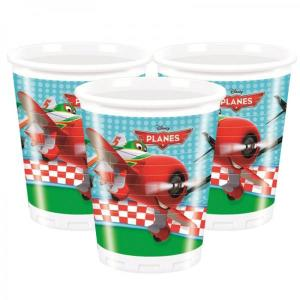 Disney Planes Plastic Cups (8pc)