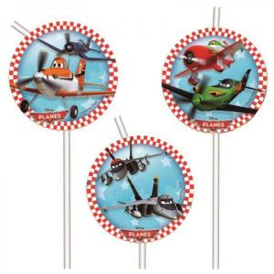 Disney Planes Party Straws (6)