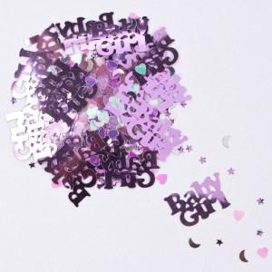 Pink Baby Girl Confetti