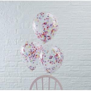 Pick & Mix Confetti Balloons MULTICOLOUR (5)