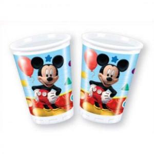 Disney Playful Mickey Plastic Cups (8pc)