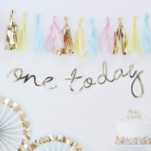 Pick & Mix Gold One Today Backdrop