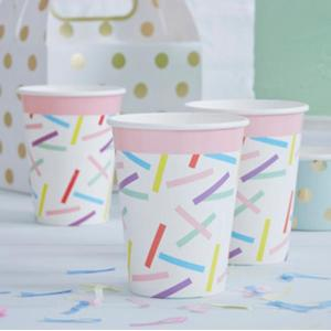 Pick & Mix - Sprinkles Paper Cups (8)