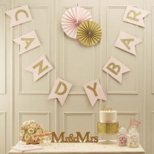 Pastel Perfection Candy Bar Bunting